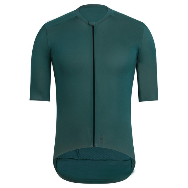 2018 Dark Green Top Quality PRO TEAM AERO CYCLING Jerseys Short sleeve  Bicycle Gear race fit cut fast speed road bicycle jersey bfd18d0ed