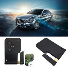 Новый 1 шт. автомобиль 3 кнопки 433 МГц 7947 чип с аварийной вставкой лезвие смарт пульт дистанционного ключа для Renault Megane Scenic 2003 2008 карты