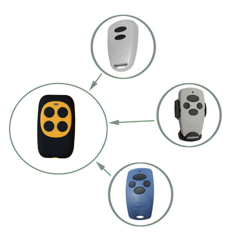 New DOORHAN Transmitter remote Control 433,92Mhz rolling code Clone,Duplicator Cheap price v2 replacement remote control transmitter 433mhz rolling code top quality