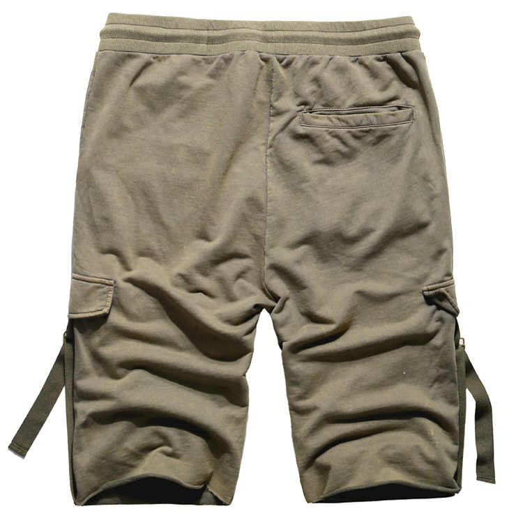 Cargo Shorts Mannen Zomer Casual Pocket Shorts Masculino Mannen Joggers Algehele Militaire Korte Broek Plus size Joggingbroek K905
