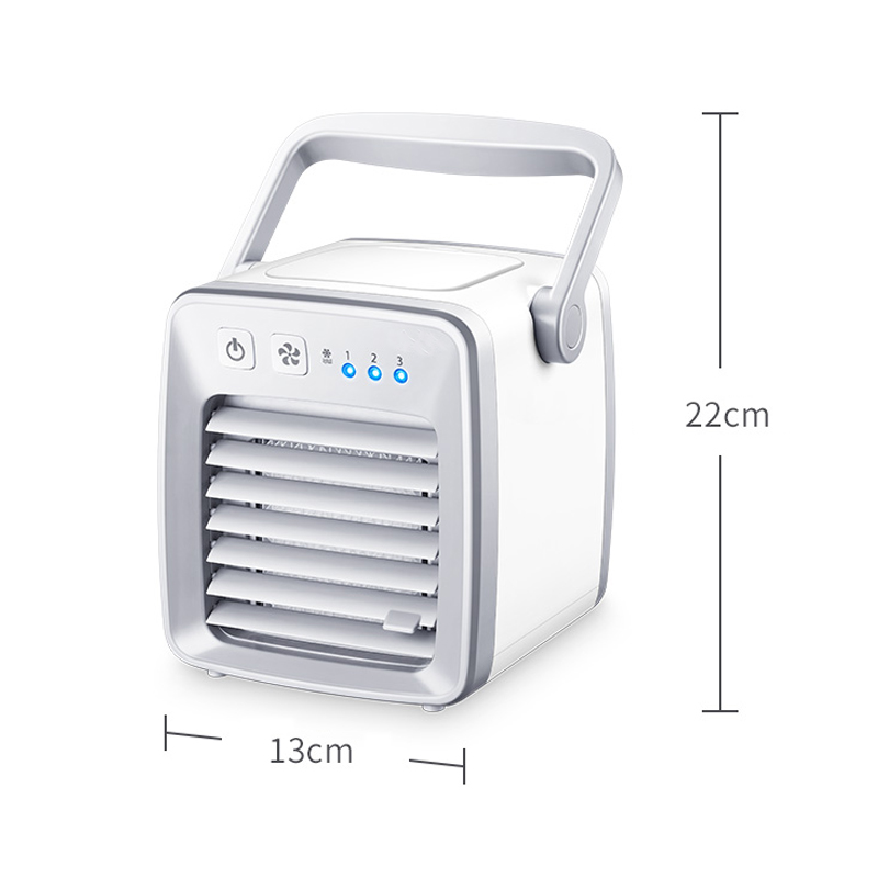 USB Air Cooler Fan evapolar usb ventilator Portable Desk Fan Mini Conditioner Device artic air Cool Soothing Wind HomeOffice (3)
