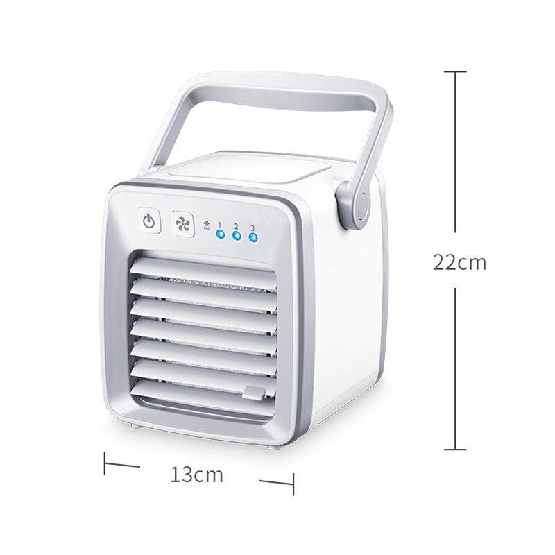 USB Air Cooler Fan evapolar usb ventilator Portable Desk Fan Mini Conditioner Device artic air Cool Soothing Wind HomeOffice (3)