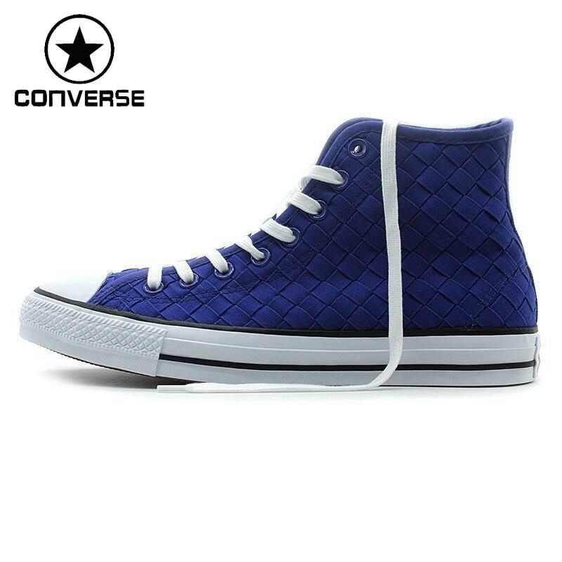 цена Original New Arrival  Converse men and women Skateboarding Shoes Canvas Sneakers онлайн в 2017 году
