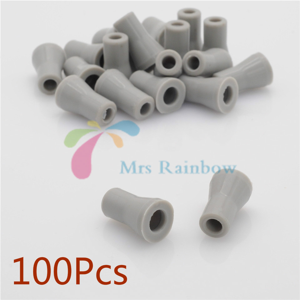 Sale Dentist SE Saliva Ejector Replacement Rubber Valve Snap Tip Adapter 100Pcs