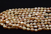 5strands loose beads freshwater pearl pink baroque 7 9mm 15inch for making jewelry DIY FPPJ wholesale