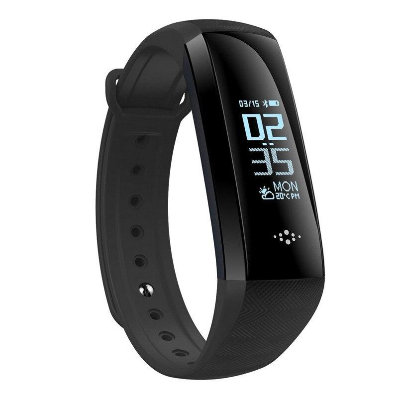 Smart Band, Wasserdichte Intelligente Uhr Fitness Tracker Aktivität Armband HR SPO2 Monitor Schrittzähler Schlaf-monitor Smart Armband