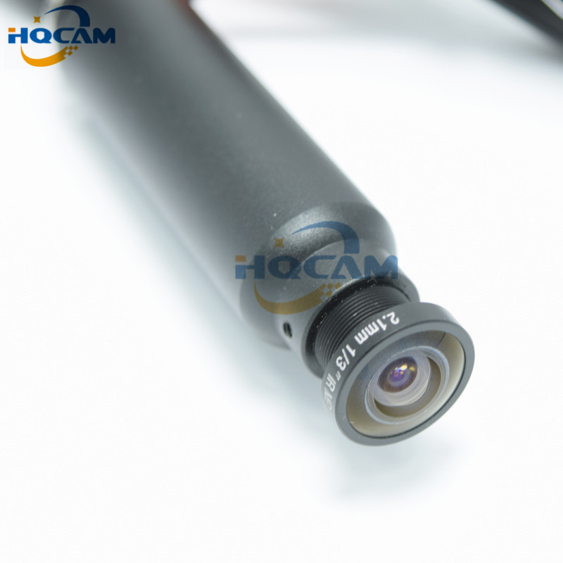 HQCAM Mini Bullet Camera 1/3 Sony CCD 420TVL Indoor Security Mini CCD Camera 2.1mm Wide Angle Lens Industrial Equipment Camera free shipping hot sell 1 3 sony ccd 405 2010 420tvl bullet camera module circuit board pal system