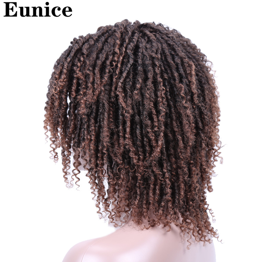 Soft Short Synthetic Wigs For Black Women 14