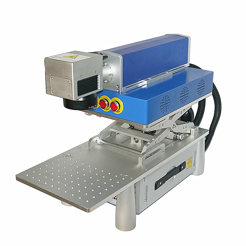 New 20W LY FB-01 Mini Simple Desktop Optical Fiber Marking Machine 220V 110V Need To Link With Computer