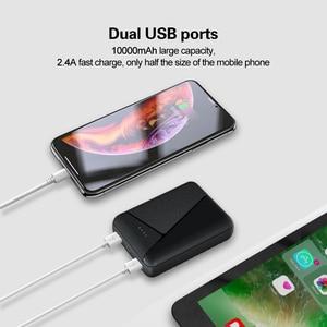 Image 3 - 10000 mah 미니 전원 은행 2.4a 빠른 충전 휴대용 powerbank 2 usb poverbank 외부 배터리 아이폰 xiaomi 화웨이 삼성