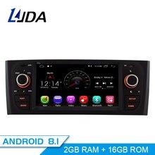 LJDA Android 8,1 dvd-плеер автомобиля для Fiat Grande Punto Linea 2007 2008 2009 2010 2011 2012 Мультимедиа Стерео gps 1 Дин радио