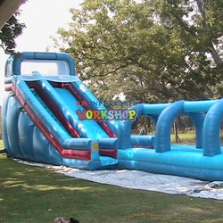 KK exports large water park toys, Manufacture customize inflatable water slides