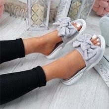 SHUJIN Bow Flats Sandals Women Ladies Shoes 2020 Torridity N