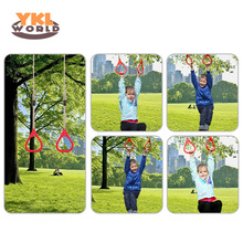 Children Playground Flying Gym Rings Swing Flying Pull Up Ring Sports Outdoor Indoor Swing Games for Kids Gift (S8 цена