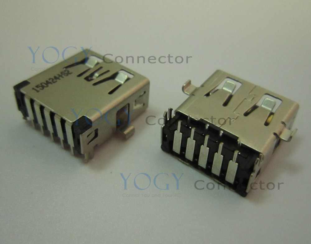 10 pcs 14mm Perempuan usb 3.0 konektor cocok untuk Dell Inspiron 7720 seri USB Papan, laptop motherboard Asus G752V seri dan lainnya
