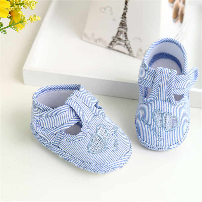 ילדים בייבי לפעוטות יילוד ילדה ילד רך Sole עריסה פעוט נעלי בד Sneaker ילד תינוק פעוט נעליים