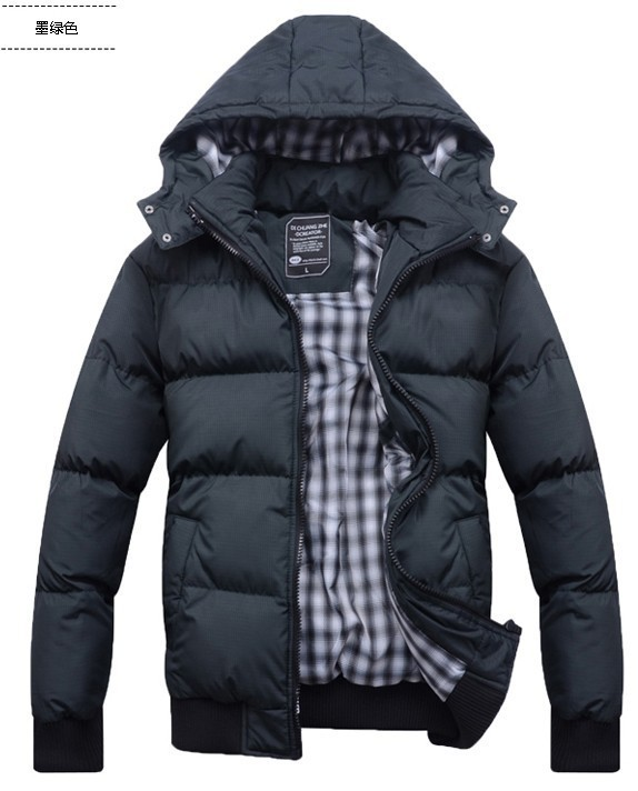 NEW 2014 men\'s clothing winter outerwear wadded ja...