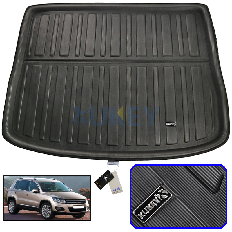 Cargo Mat For VW Volkswagen Tiguan 2007-2016 Rear Trunk Liner Boot Tray Floor Protector 2008 2009 2010 2011 2012 2013 2014 2015