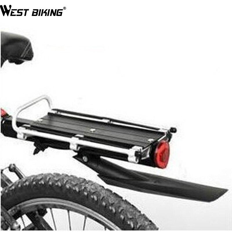 Запад biking Quick Release Стиль Алюминий велосипед стойку после Подставки для велосипеда горный велосипед Велоспорт дорожный велосипед стойку с Бр...