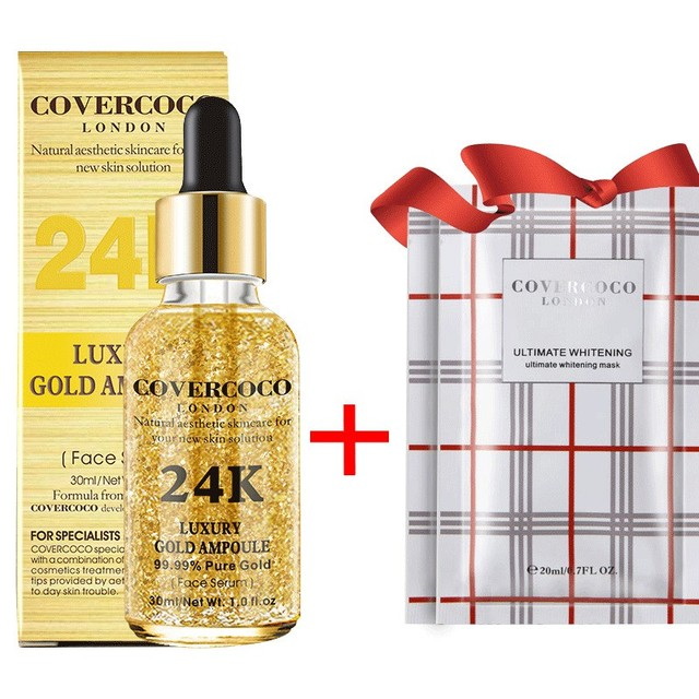 24K Gold Face Serum Firming Moisturizing Face Essence Anti-Wrinkle Anti-Aging Moisturizer Skin Care 2018 Products 5