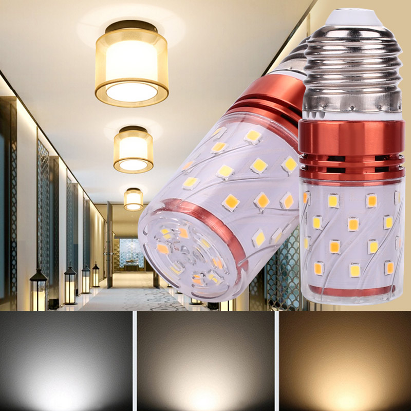 8W LED Light Indoor Outdoor Halogen Bulb Replacement Commercial Lamp E27 Spare Home Garden Durable 2835 SMD for Floodlight
