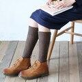 4 colur могут выбрать женщины и девушки среднего носки осенние и зимние носки шерсть и хлопок смесей может согреть более