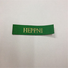 Custom Brand Garment Woven Label Clothing Main High Density