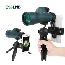 12X50 High Power Monocular with Tripod Smartphone Holder Waterproof Telescope Bak4 for Bird Watching Hunting Camping Secenery