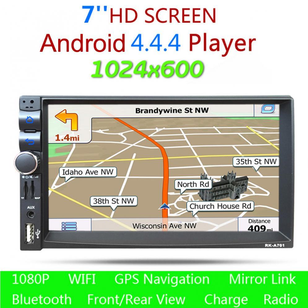 Hot Rom G Ram G Double Din Hd Car Stereo Gps Mp Bluetooth