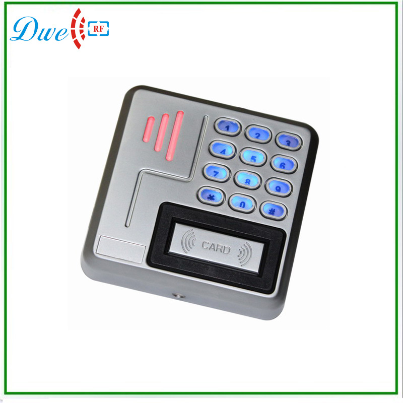 Waterproof IP 68 Metal Access Control System Keypad and RFID Card Reader with wiegand 26 protol waterproof touch keypad card reader for rfid access control system card reader with wg26 for home security f1688a