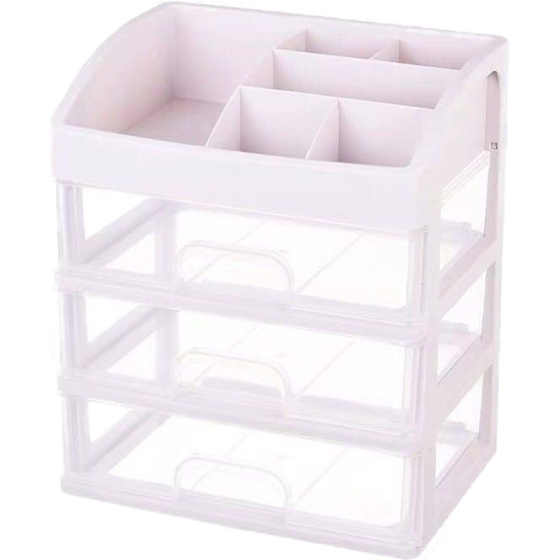 Plastic Cosmetic Storage Box to Organize Makeup with Drawers for Dressing Table of Women 4