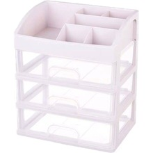 Makeup Organizer Drawers Plastic Cosmetic Storage Box