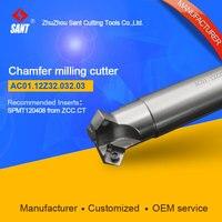 Refira CMA01-032-G32-SP12-03 ou ac01.12z32.032.03 chanfras ferramentas de trituração para inserções spmt120408