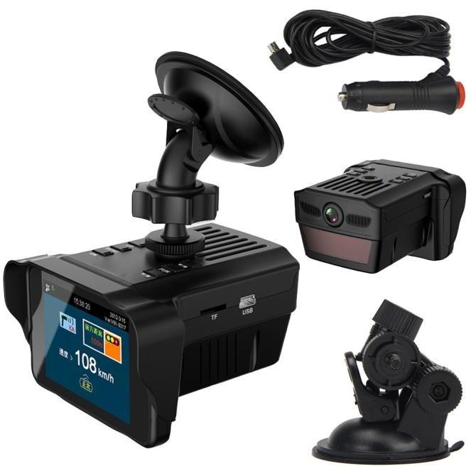 2 IN 1 Car Speed Laser Police Dog Radar Detector GPS Voice Alert Safety Car GPS Speed Radar Detector Scanning Voice Alert Laser видеорегистратор alert anvr 800