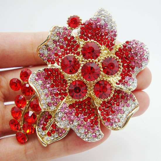 Pretty Beautiful and charming red crystal rhinestones ... - photo#46