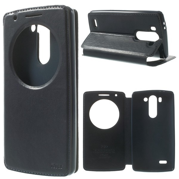 Roar For LG G3 Mini D722 Cover Case High Quality Korea Noble Leather View Cover for
