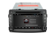 For Quad-core in dash KIA Sorento 2012 capacitive touch screen Car dvd player GPS with BT Ipod list USB SD Radio SWC GPS Navi