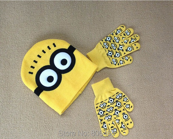 Baby Boys 2014 Minion Hat Crochet Pattern Despicable Me Children