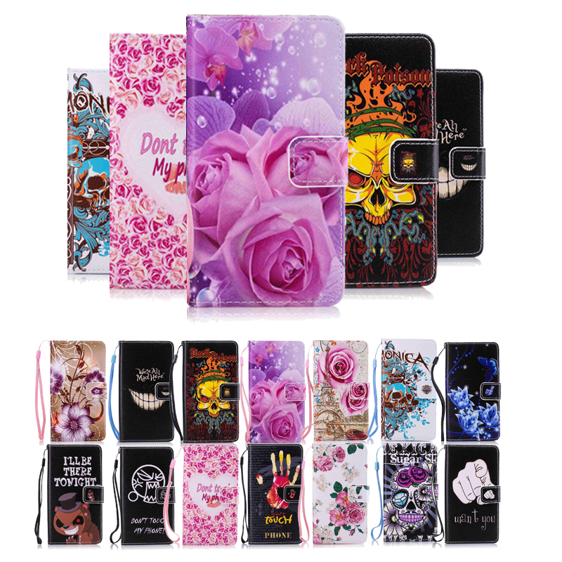 Fashion Leather Flip Cover Case For Samsung Galaxy S3 S4 S5 S6 S7 Edge S8 Plus A3 A5 J1 J5 2016 A3 A5 2017 Flip Cover Case Capa image