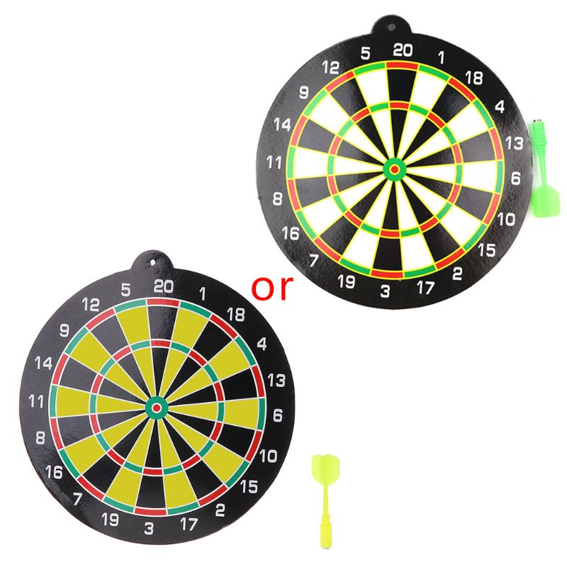 HBB High Quality Magnetic Flying Disc Set With Dart Dartboard Home Office Target Game Kids Toys