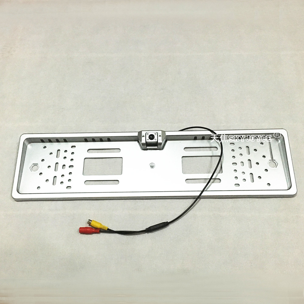 Universal kfz rückfahrkamera Europäischen LED kennzeichen kamera CCD ...