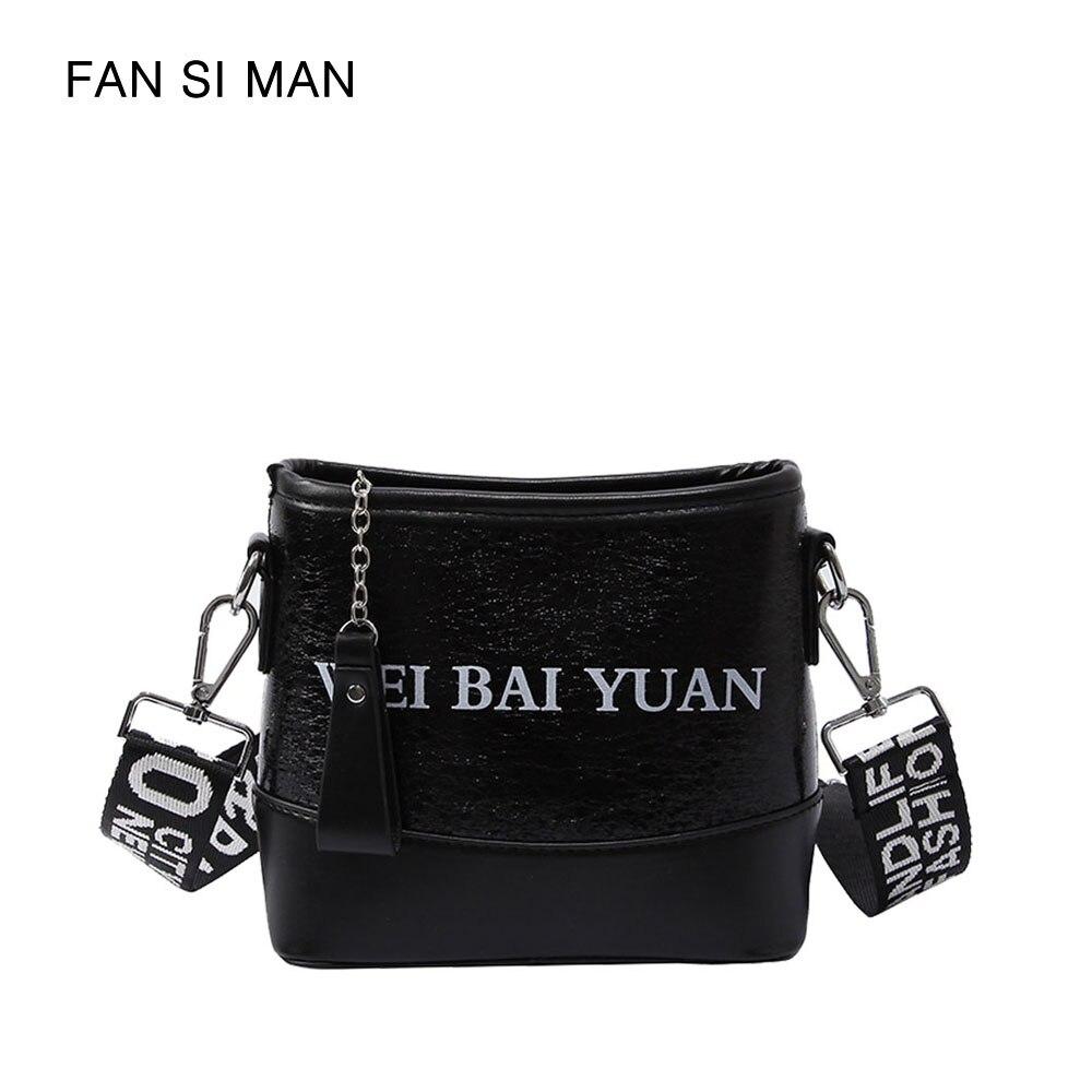 Fansiman 2018 New Women Bag Women Messenger bags Luxury Shoulder Bag Female Design Ladies bags Handbag Female Webbing S