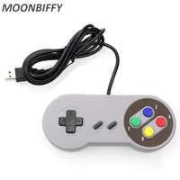 USB Controller Gaming Joystick Gamepad Controller für Nintendo SNES Spiel pad für Windows PC Für MAC Computer Control Joystick