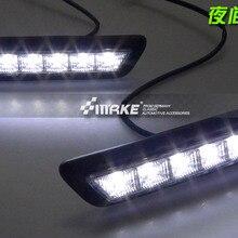 СВЕТОДИОДНЫЙ DRL светодиодный светильник дневного света для MITSUBISHI OUTLANDER SPORT RVR ASX 2010-2012 для Mitsubishi ASX, 2 шт