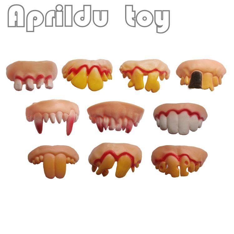 100 pcs dentes de dentadura vampiro dia das bruxas piadas praticas interessante brincadeira horror diversao shocker
