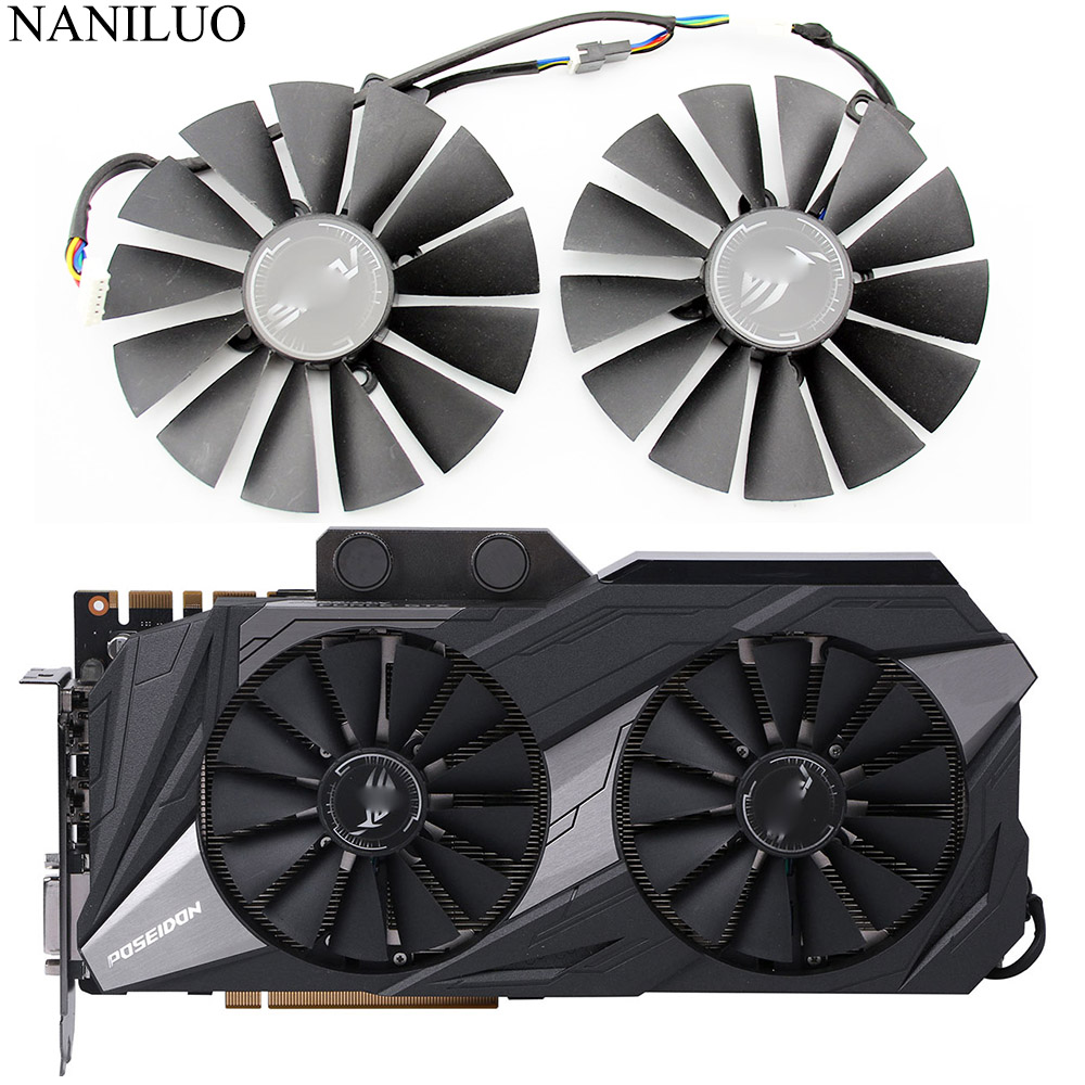 3PCS//lot for ZOTAC GTX 1080TI AMP EXTREME 11G Graphics Video Card Cooling Fans