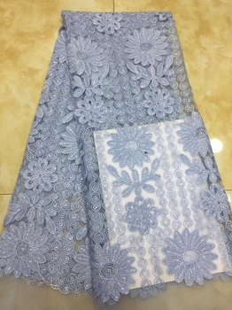 2018 Latest French Laces Fabrics High Quality Tulle African Laces Fabric For Wedding Nigerian Sequin Lace Material  X1108