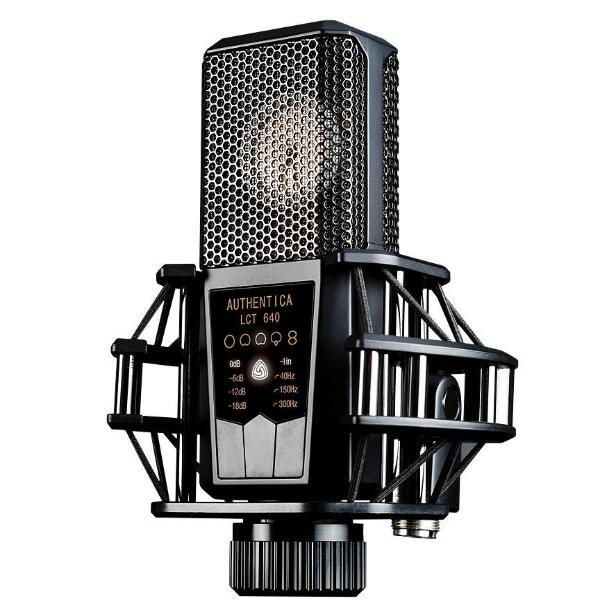 LEWITT LCT 640 reference-quality 1 inch large-diaphragm condenser microphones wide-cardioid and super-cardioid characteristic