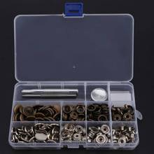50pcs 12.5mm Metal Buttons for Jeans Sewing Accessories Snap For Clothes Manually Install The Tool