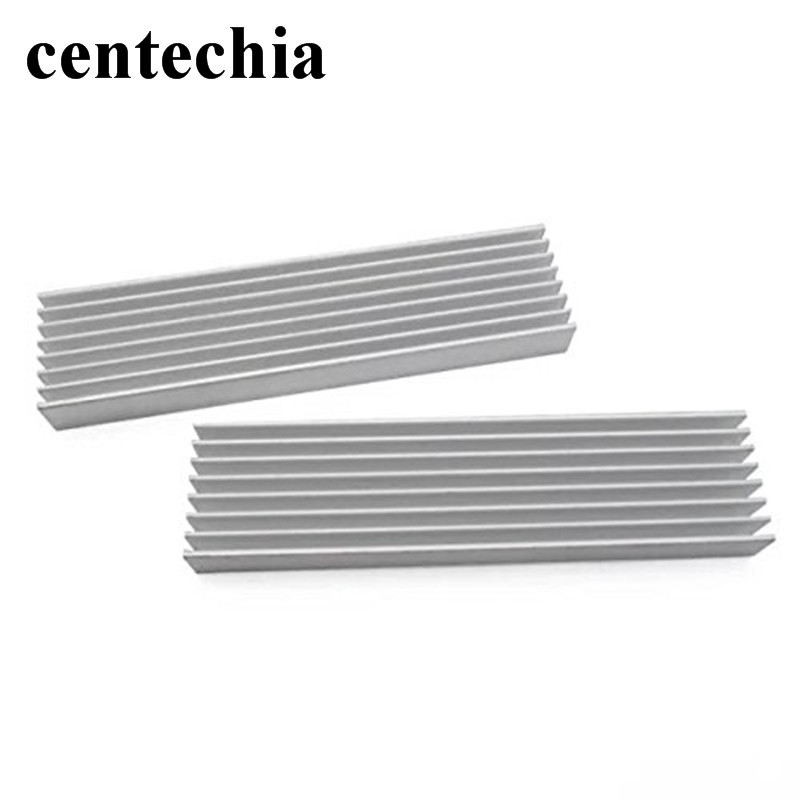 Centechia DIY aluminum Heatsink radiator heat sink Ddesigned for high power household LED light or fish tank LED devices synthetic graphite cooling film paste 300mm 300mm 0 025mm high thermal conductivity heat sink flat cpu phone led memory router